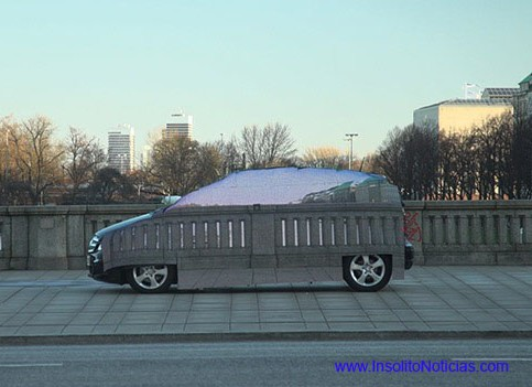 Automovil Mercedes Benz Invisible