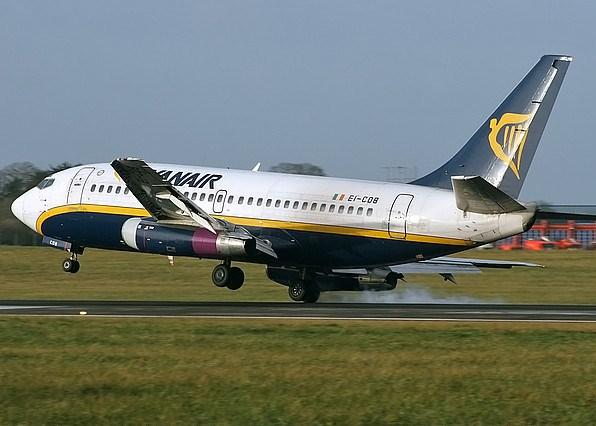 Increible aterrizaje en España