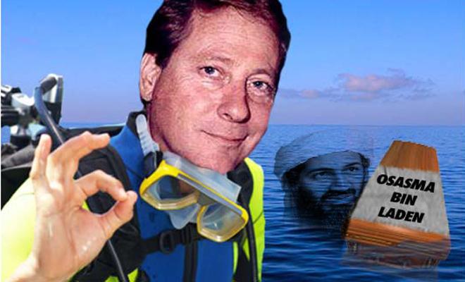 Rescate del cuerpo de Bin-Laden