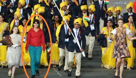 Intrusa comitiva india Lonfres 2012