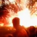 Accidente en fuegos artificiales