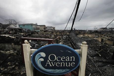 Huracan Sandy - Ocean Avenue