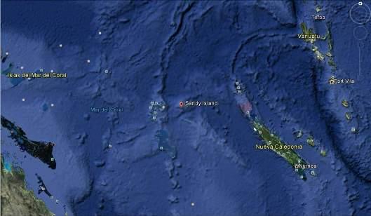 Isla del Pacifico desaparece misteriosamente