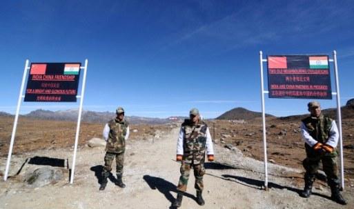 Patrulla de frontera India
