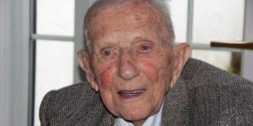 Sam Ledward cumplio 106 años despues de ser declarado muerto en 1936