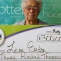 bisabuela gana dos veces loteria