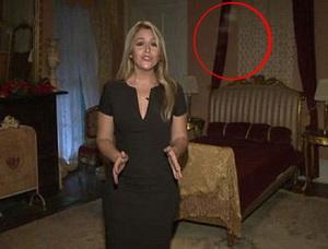 Filman fantasma en una mansión embrujada de Nueva Orleans