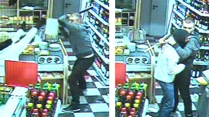 Ladrón llora durante robo a gasolinera