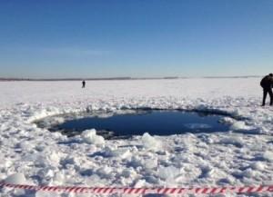 Meteorito cae sobre Rusia