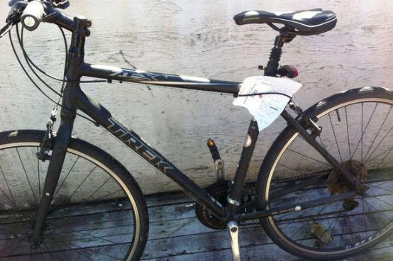Roba bicicleta y la devuelve con una carta de disculpas
