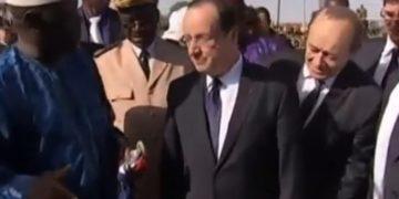 Se comen camello que le regalaron al presidente francés