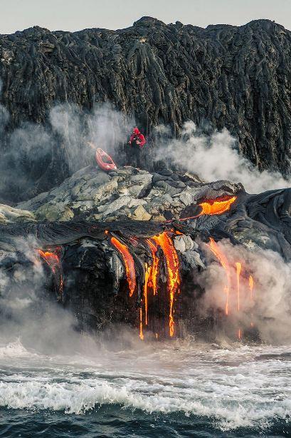 Kayak en volcan06