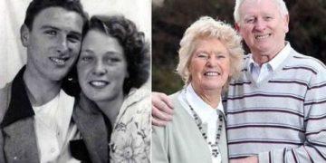 Novios de la adolescencia se casan 60 años después