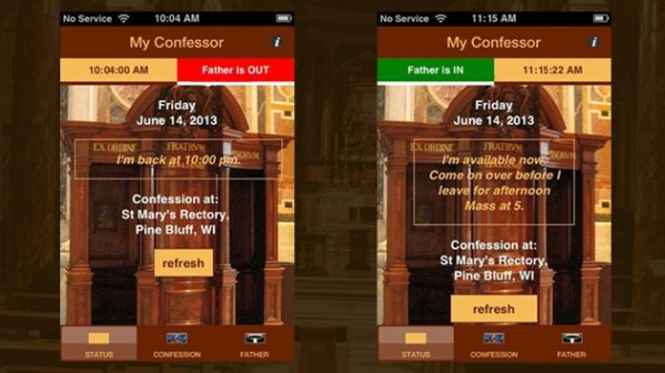 My Confessor App