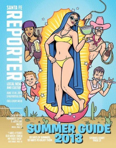 Virgen Guadalupe en Bikini