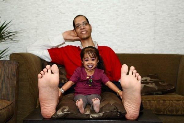 """""""Los pies increíbles"""" (Amazing Feet)"""