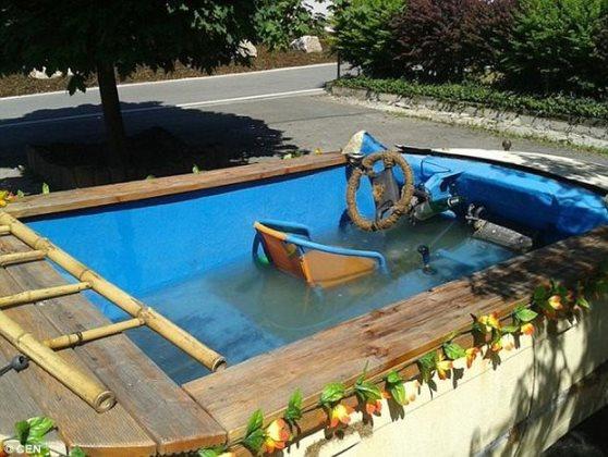 auto piscina