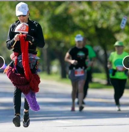 Teje en maraton