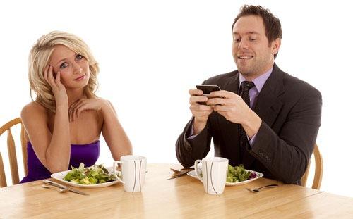 deja a la pareja por su iPhone