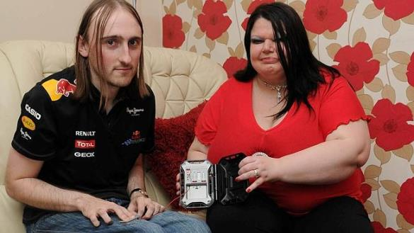 Debbi uses a lie detector on Steve. Debbi Wood, 42, of Leicester, suffers with Othello Syndrome and is so paranoid that fiance Steve Wood, 30, will cheat on her that she checks his phone, email accounts and bank statements several times a day, and uses a lie detector for evidence of infidelity.