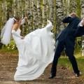 amante irrumpe en casamiento
