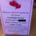 Dia de los enamorados en McDonal