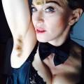 Madonna sin depilarse
