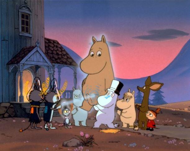 Television programa: Moomins