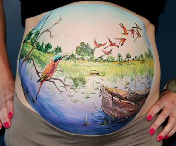Kit de pintura para Embarazadas 100