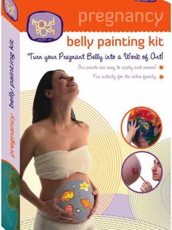 Kit de Pintura para la pancita de las embarazadas