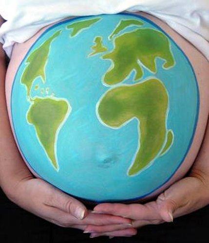 Kit de pintura para Embarazadas102