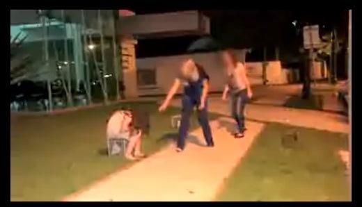 Niña zombi aterroriza Brasil