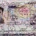 Pinta pasaporte padre