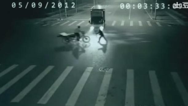 Angel salva motociclista