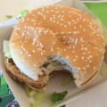 hamburguesa Mc Donald`s Mordida