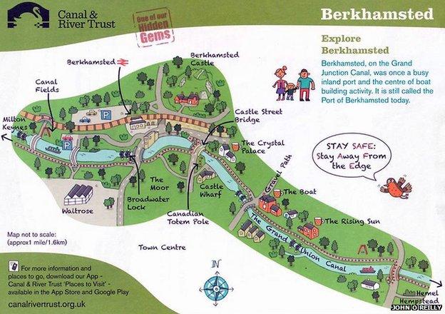 Berkhamsted-map