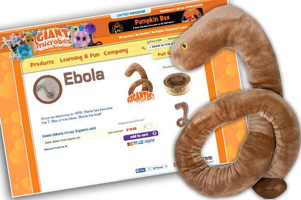 peluce de ebola