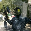 blanco de paintball