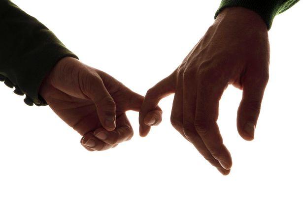 manos y mujeres