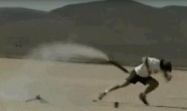 Cohete busca trasero