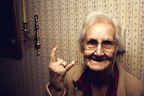 abuela fantasma