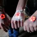 implantes de luces LED