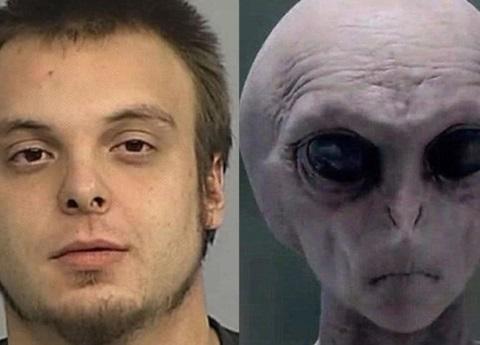 Arrestan a viajero del tiempo que llego para advertir invasión alienígena