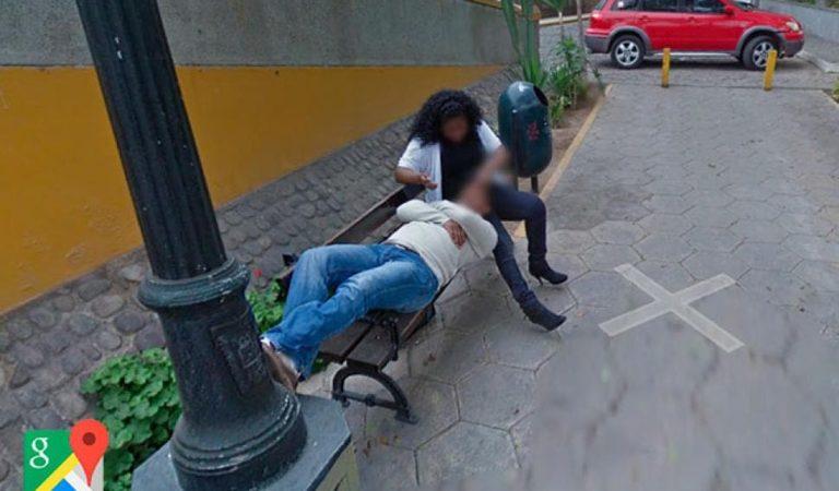 Busca lugar en Google Maps y descubre a su mujer con otro