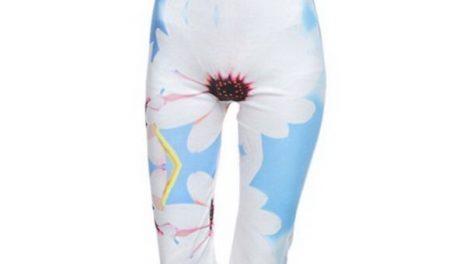 calzas floreadas