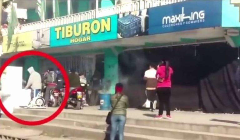 Ladrón aprovecha filmación de película para robar. Termina preso