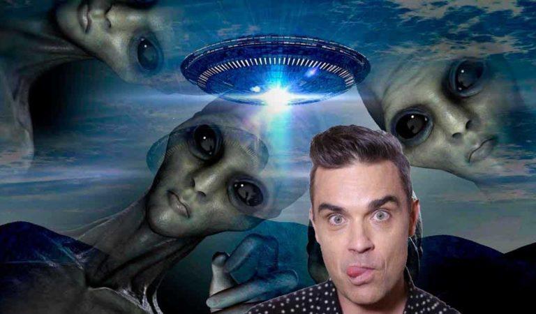 Robbie Williams contrató seguridad por miedo a los extraterrestres