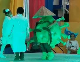 El Coronavirus se pone a bailar en el Carnaval