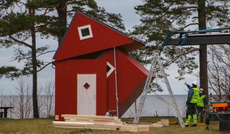 Crean una casa versátil que se puede armar en 3 horas